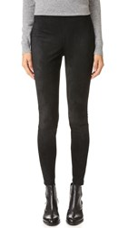 Bb Dakota Wilton Faux Suede Leggings Black