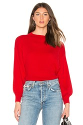 Line And Dot Alder Sweater Red