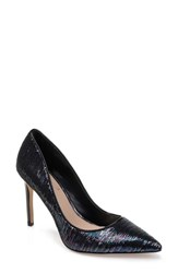 Jewel Badgley Mischka Jade Pump Petroleum Sequins