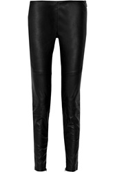 Belstaff Welton Leather Skinny Pants Black
