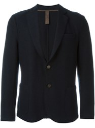 Eleventy Patch Pocket Blazer Blue