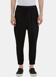 Aganovich Elasticated Cuff Pants Black