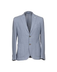 L.B.M. 1911 Suits And Jackets Blazers Sky Blue