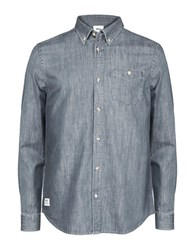Wesc Chambray Woven Shirt Monument