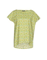 Laura Urbinati Blouses Acid Green