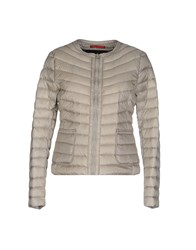 Jan Mayen Down Jackets Light Grey