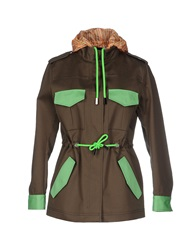 Mauro Grifoni Jackets Military Green
