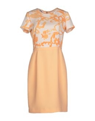 Moschino Cheap And Chic Moschino Cheapandchic Knee Length Dresses Apricot
