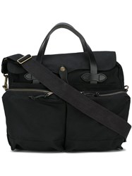 Filson '24Hrs Stin' Briefcase Cotton Black