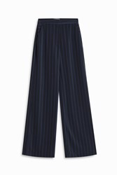 Atea Oceanie Women S X Man Repeller Striped Trousers Boutique1 Blue