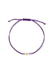 Natasha Collis Nugget Friendship Bracelet Pink Purple