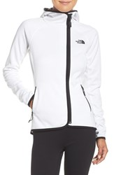 The North Face Women's 'Arcata' Water Resistant Jacket Tnf White Tnf Black