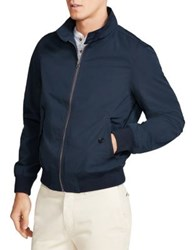 Brooks Brothers Water Repellent Bomber Jacket Navy