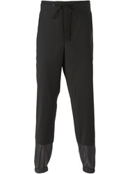 3.1 Phillip Lim Two Tone Track Pants Black