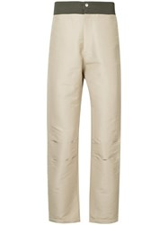 Ex Infinitas Essential Substances Tailored Trousers Brown