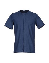 Steven Alan Denim Denim Shirts Men Blue
