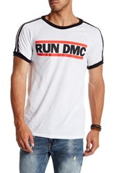 Bravado Run Dmc Logo Soccer Graphic Tee White