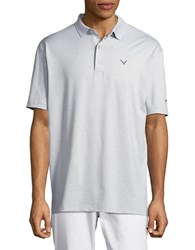 Callaway Opti Stretch Golf Performance Solid Polo High Rise