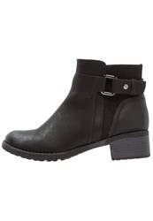 Evans Aries Ankle Boots Black