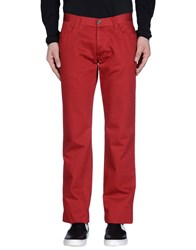 Bikkembergs Casual Pants Red