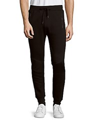 Sovereign Code Roosevelt Solid Zippered Pants Black