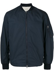 Universal Works Classic Bomber Jacket Blue