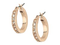 Guess 9 On Mixed Earrings Set Rose Gold Crystal Earring