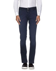 Hamaki Ho Trousers Casual Trousers Men Dark Blue