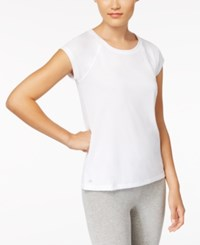 Ideology Performance Open Back T Shirt Created For Macy's Bright White