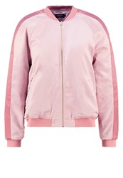 Soaked In Luxury Sarabella Bomber Jacket Light Rose