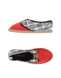 U.T. Wave Espadrilles Red