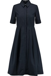 Raoul Soho Cotton Shirt Dress Midnight Blue