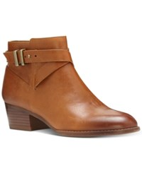 Inc International Concepts Women's Herbii Buckle Booties Only At Macy's Women's Shoes Caramel