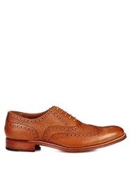 Grenson Dylan Grained Leather Brogues