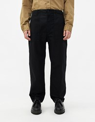 Engineered Garments Twill Fatigue Pant In Black