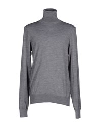 Patrizia Pepe Knitwear Turtlenecks Men Grey