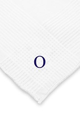Men's Cathy's Concepts Personalized Hand Rolled Handkerchiefs White Set Of 3