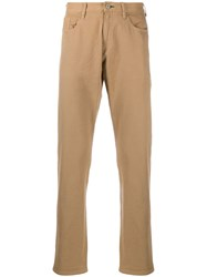 Paul Smith Ps Straight Leg Chino Trousers Neutrals
