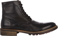 Barneys New York Cap Toe Boots Black Size 9.5