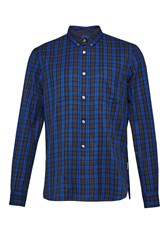 French Connection Men's Tarp Check Connery Shirt Green