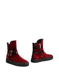 Carlo Pazolini Ankle Boots Maroon