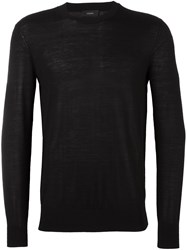 Joseph Fine Knit Jumper Black