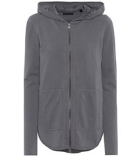 Atm Anthony Thomas Melillo French Terry Cotton Hoodie Grey