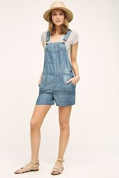 Anthropologie Aria Overalls Tinted Denim