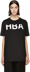 Hood By Air Black Rehab T Shirt