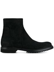 Rick Owens Creeper Slim Boots Black