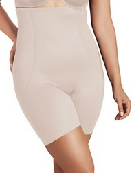 Miraclesuit Plus Size High Waist Thigh Slimmer Cupid Nude