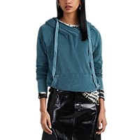Nsf Lisse Reverse French Terry Surplice Hoodie Turquoise