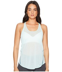 Brooks Ghost Racerback Pool Ocean Sleeveless Blue