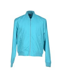 Cheap Monday Coats And Jackets Jackets Men Turquoise